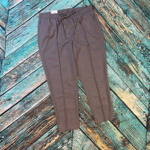NEW Tommy Hilfiger Gray Jogger Trousers Pants L